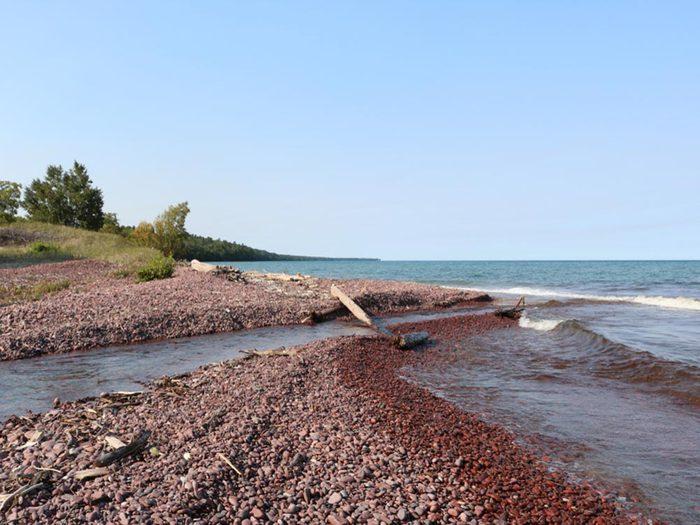 Profitez des plages du Michigan.