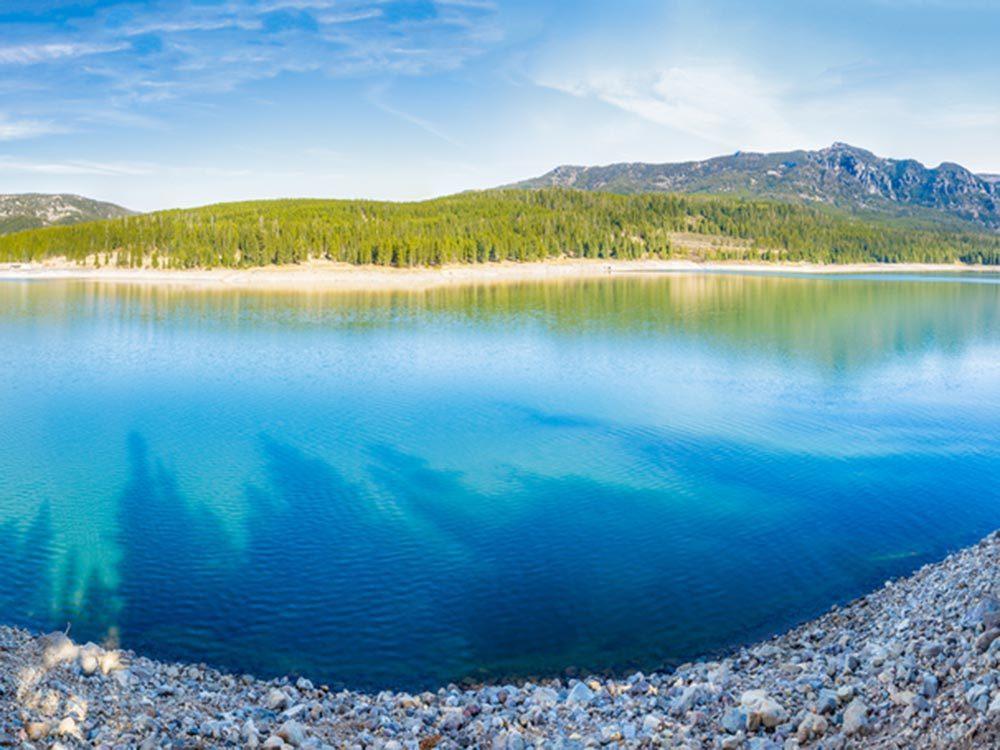 Essayez les plages du Montana.