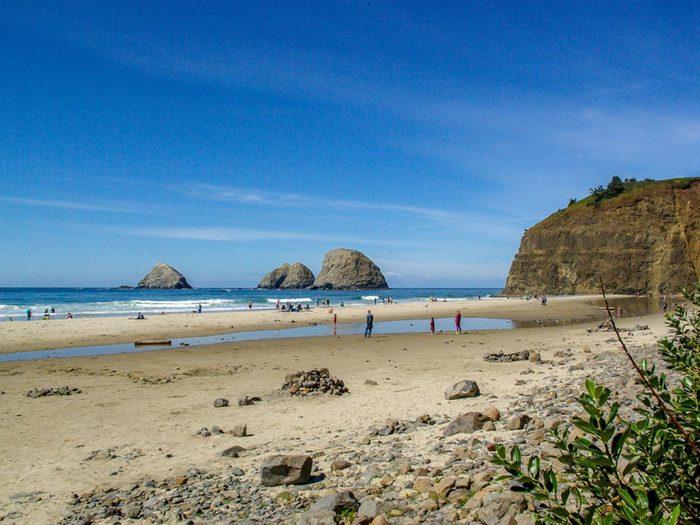 Détendez vous sur les plages d'Oregon.