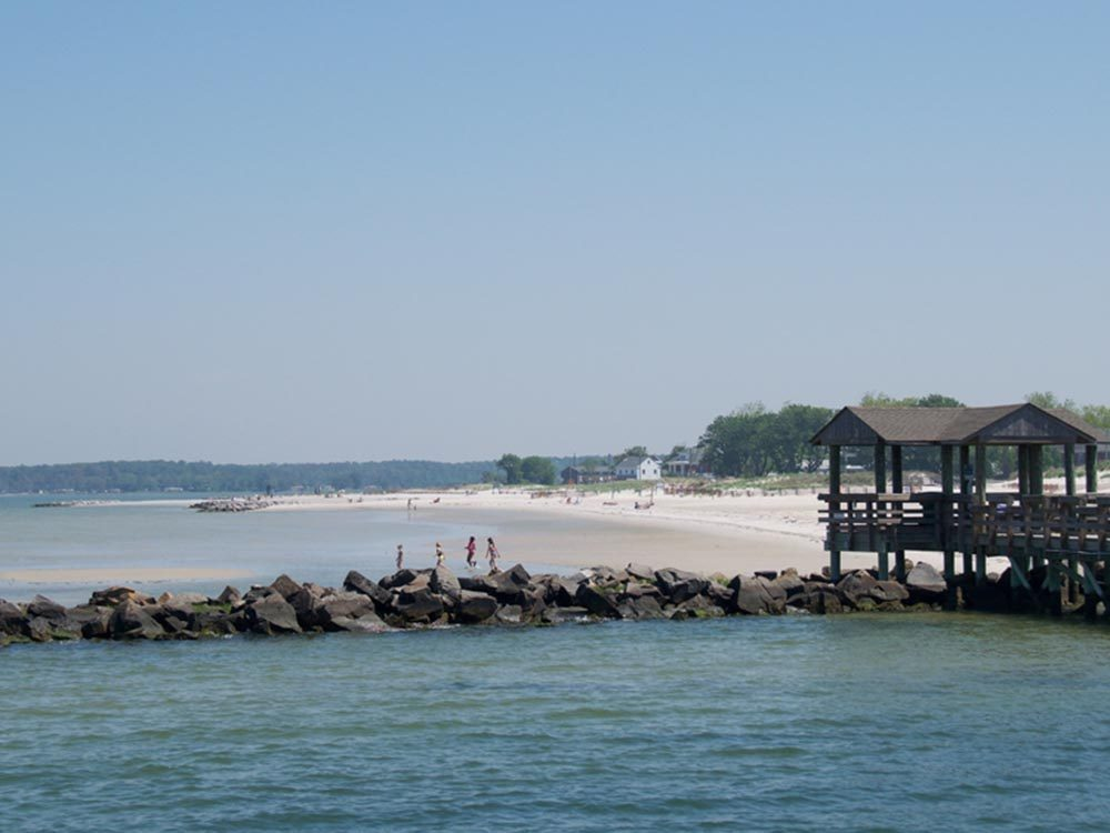 Profitez des plages de Virginie.