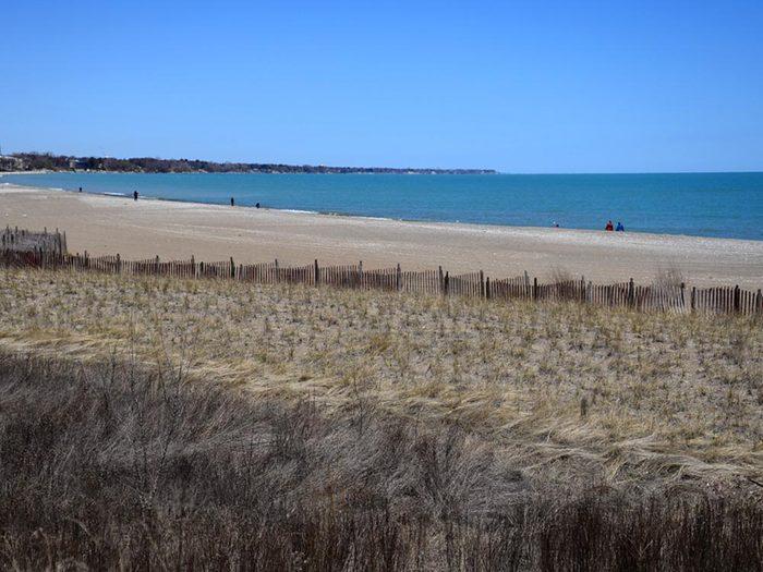 Détendez vous sur les plages du Wisconsin.