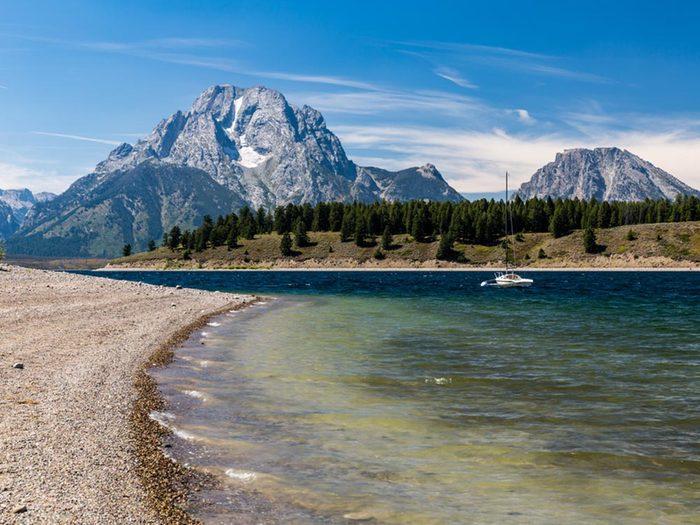 Essayez les plages du Wyoming.