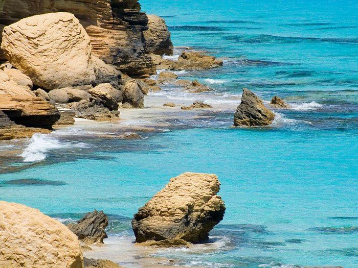 Plus belle plage du monde: Agiba Beach.