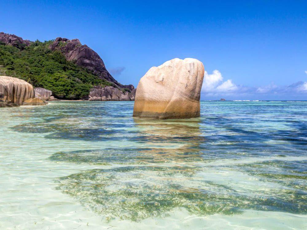 Plus belle plage du monde: Anse Source d'Argent.