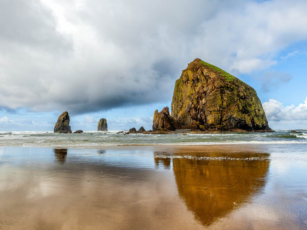 Plus belle plage du monde: Cannon Beach.