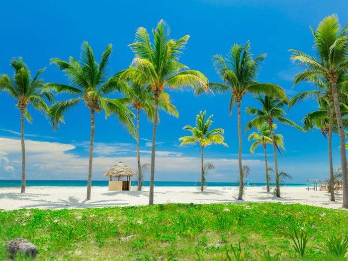 Plus belle plage du monde: Cayo Coco.
