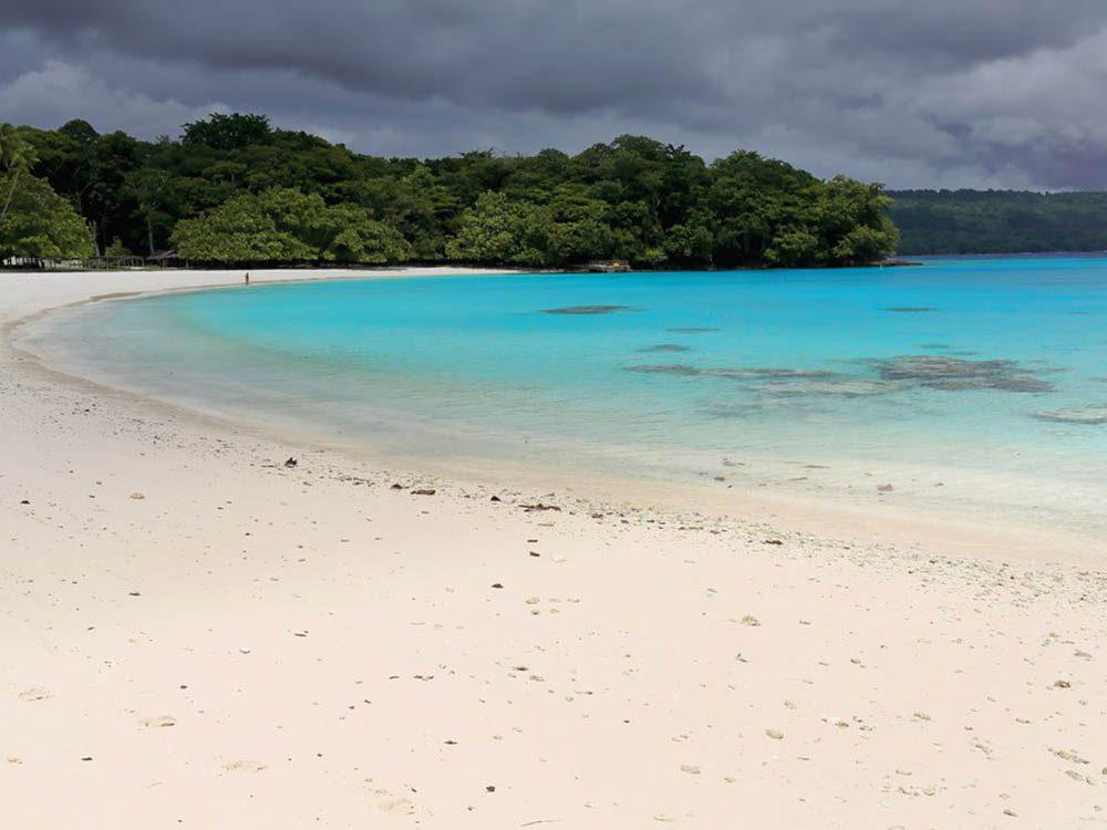 Plus belle plage du monde: Champagne Beach.