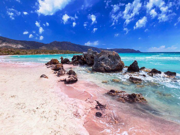 Plus belle plage du monde: Elafonissi Beach