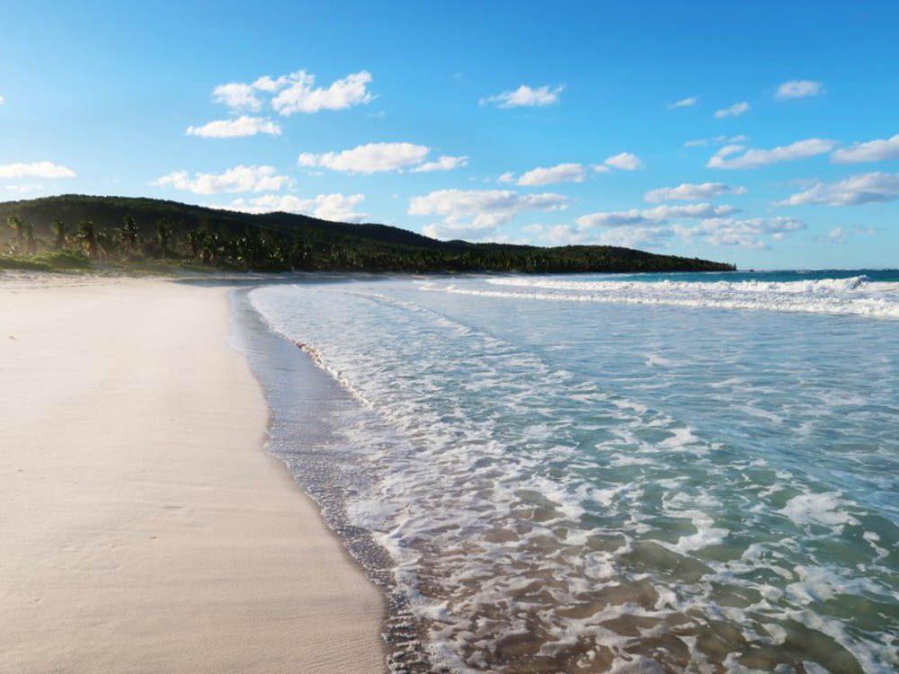 Plus belle plage du monde: Flamenco Beach.