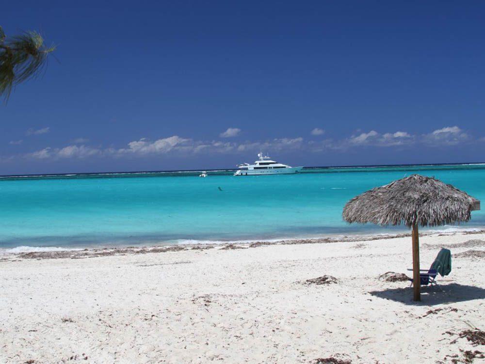 Plus belle plage du monde: Grace Bay.