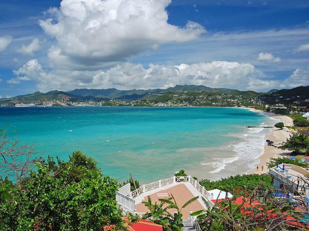 Plus belle plage du monde: Grand Anse Beach.