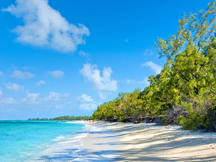 Plus belle plage du monde: Ile Aux Cerfs.
