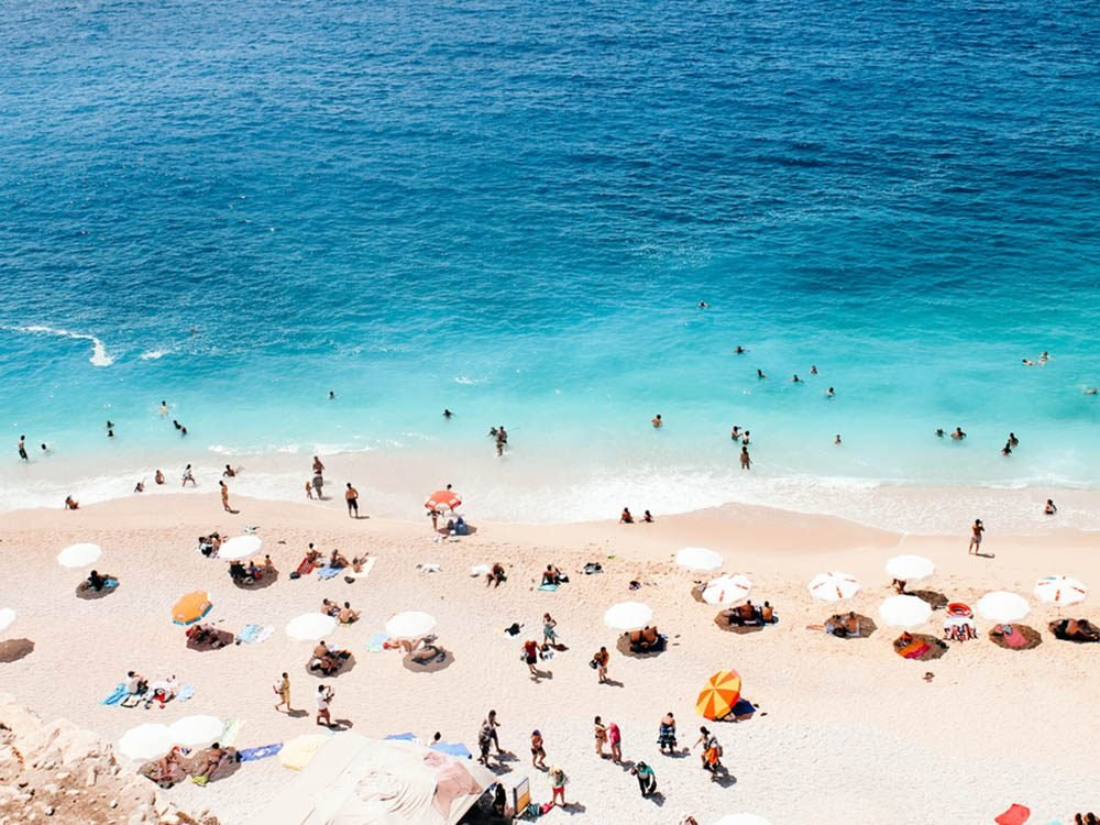 Plus belle plage du monde: Kaputas Beach.