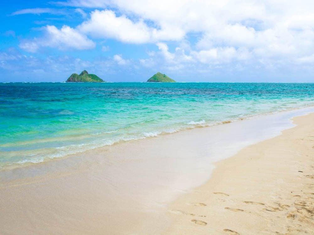 Plus belle plage du monde: Lanikai Beach.