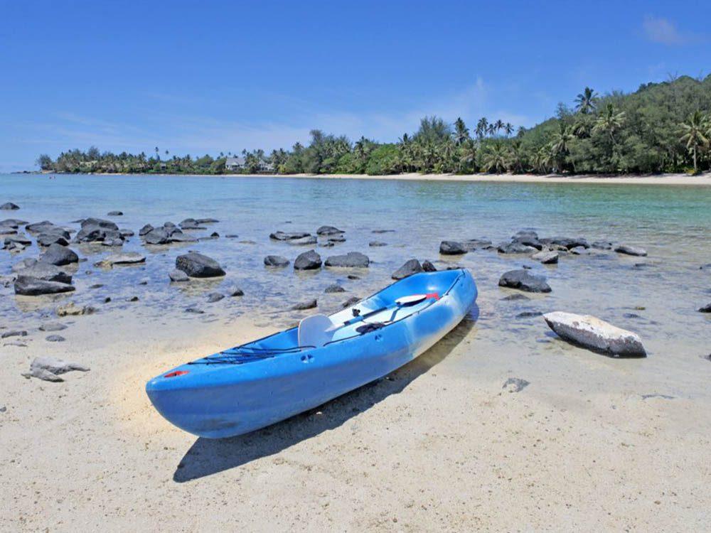 Plus belle plage du monde: Muri Beach.