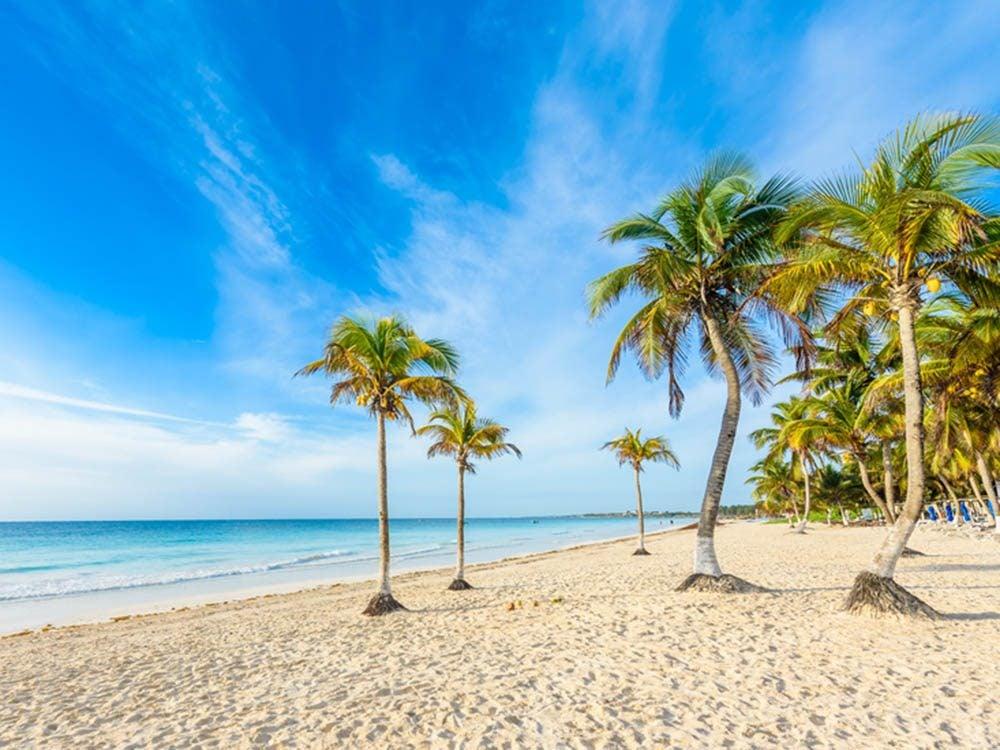 Plus belle plage du monde: Playa Paraiso.