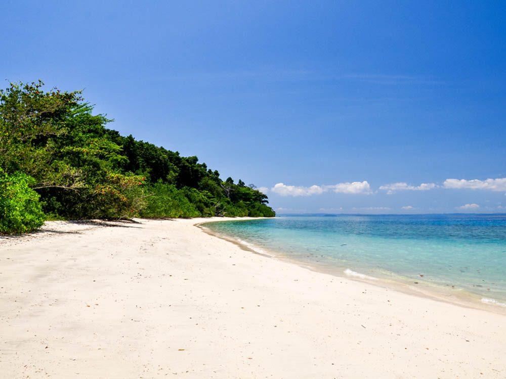 Plus belle plage du monde: Radhanagar Beach.