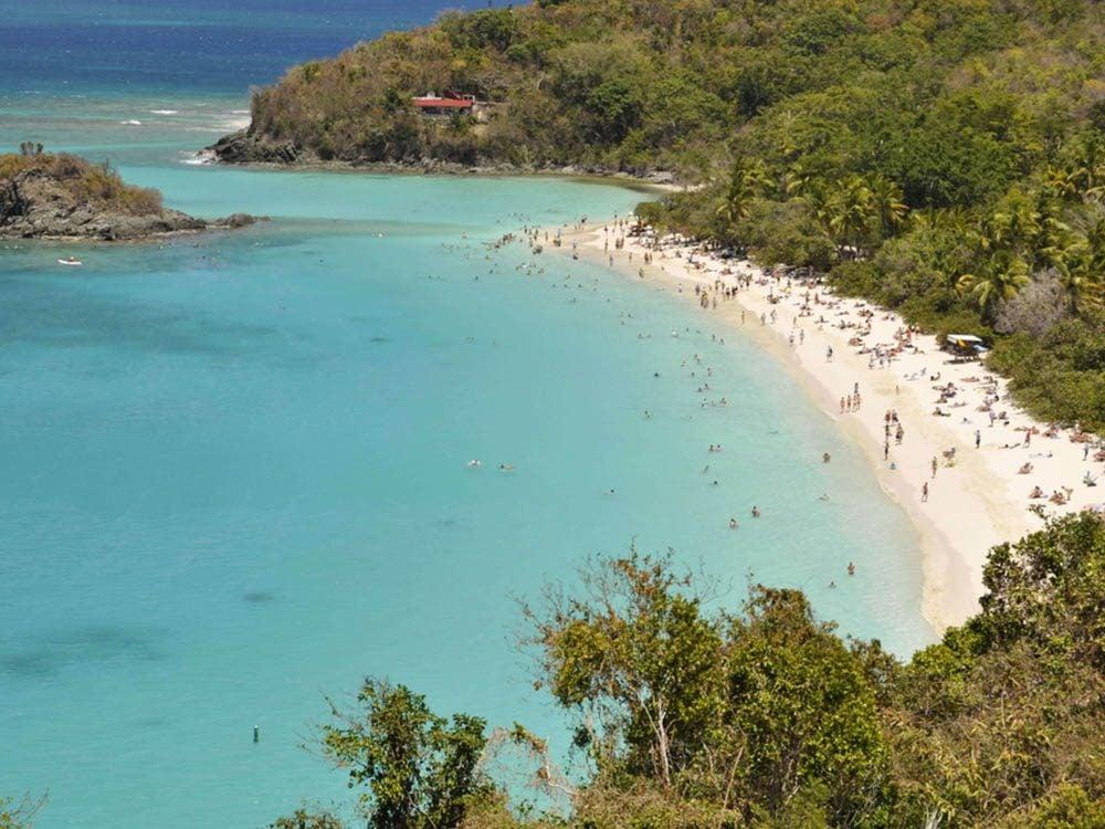 Plus belle plage du monde: Trunk Bay.