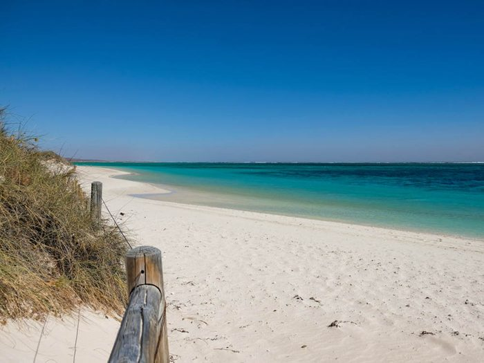 Plus belle plage du monde: Turquoise Bay.