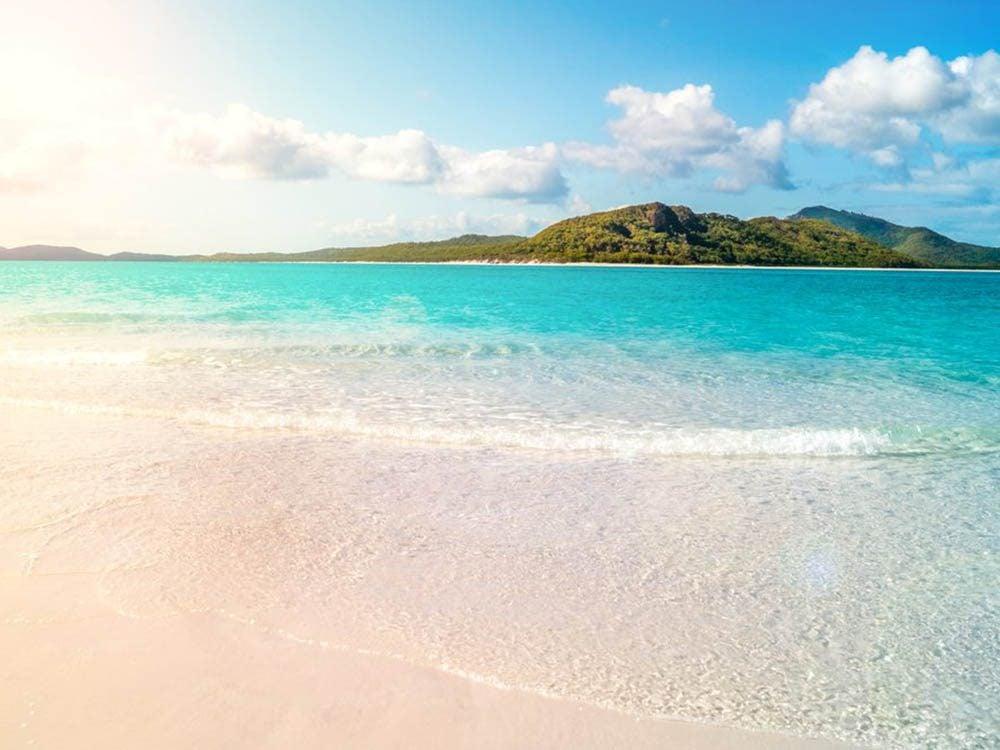 Plus belle plage du monde: Whitehaven Beach.