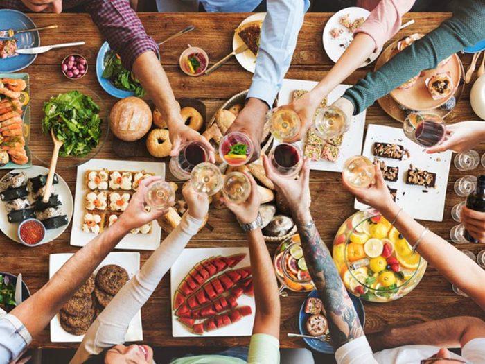 Portion alimentaire: vous n'êtes pas forcé de tout manger.