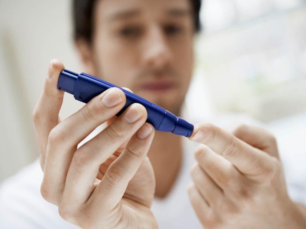 Le diabète peut faire partie des problèmes de santé sexuelle.