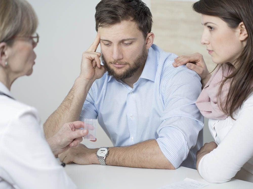 L'infertilité: les problèmes de santé sexuelle.