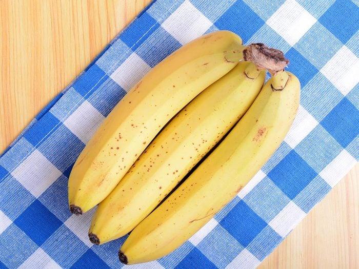 Quoi manger avant un entrainement: une banane.