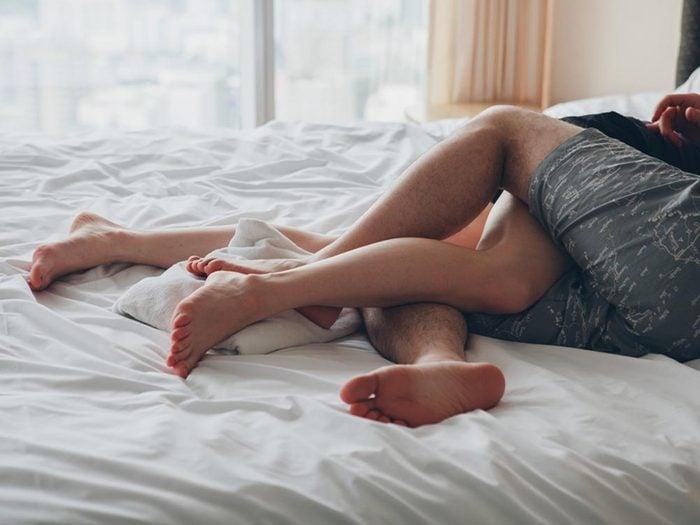 Les relations sexuelles augmentent la libido.