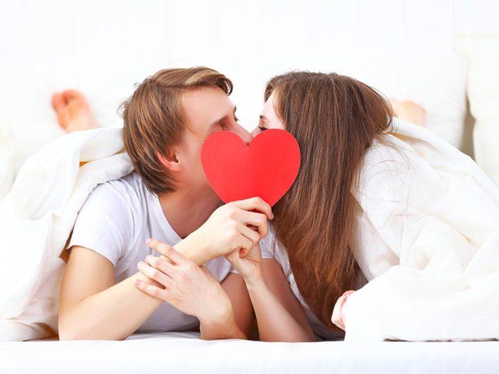 Les relations sexuelles aident à lutter contre le stress.