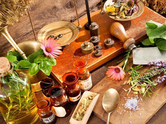 Les remèdes naturels peuvent être incompatibles avec des médicaments sur ordonnance.
