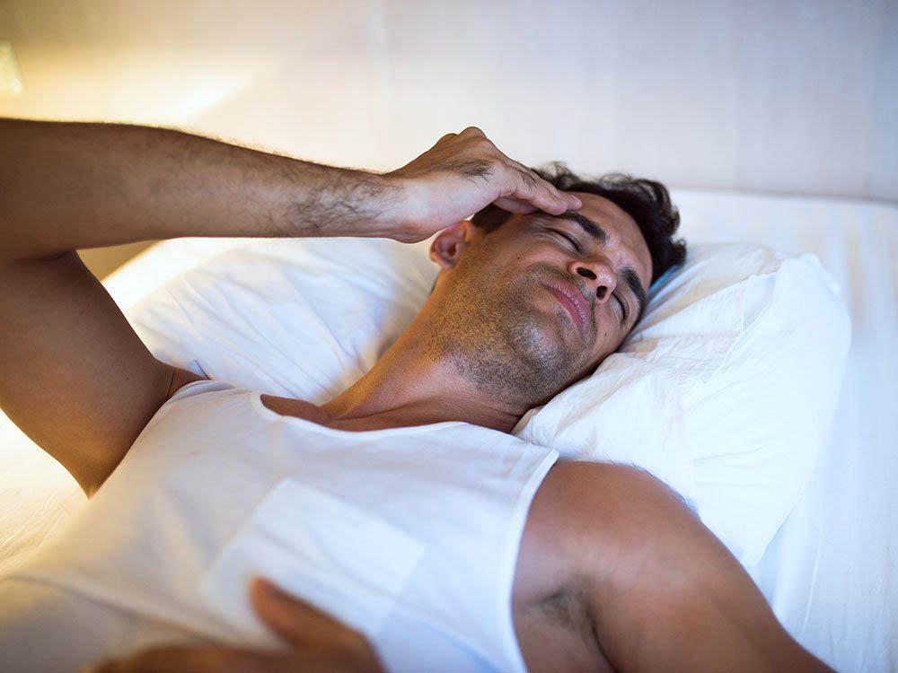 Signification des rêves: ils peuvent révéler une apnée du sommeil.