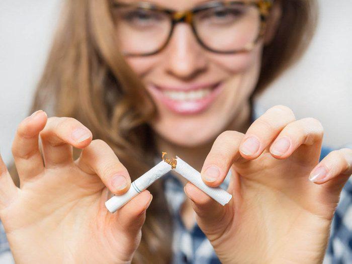 Signification des rêves: ils peuvent révéler une envie d'arrêter la cigarette.