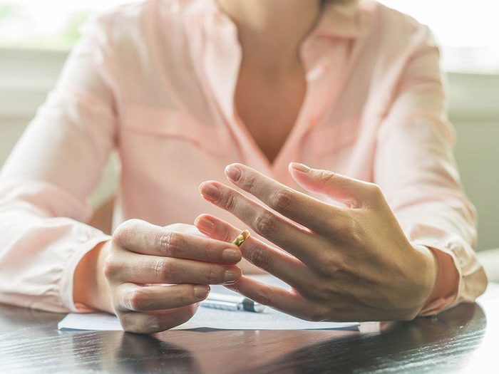 Signification des rêves: ils peuvent vous aider à mieux accepter un divorce.
