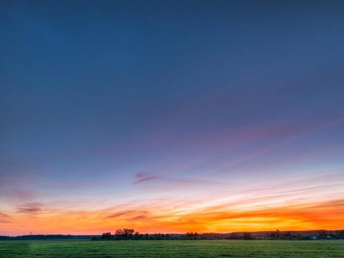 Le solstice d'été n'est pas le jour durant lequel le soleil se lève le plus tôt ou se couche le plus tard.