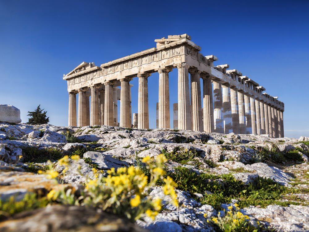 Les esclaves grecs célébraient le solstice d'été.