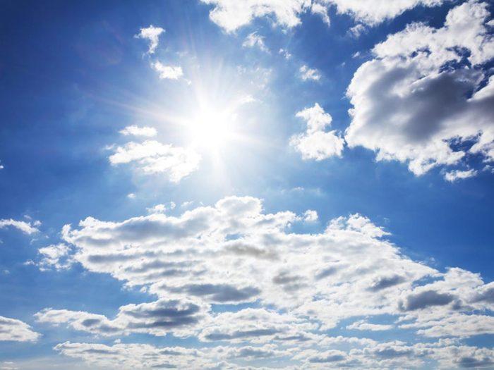 Solstice d'été et équinoxes.