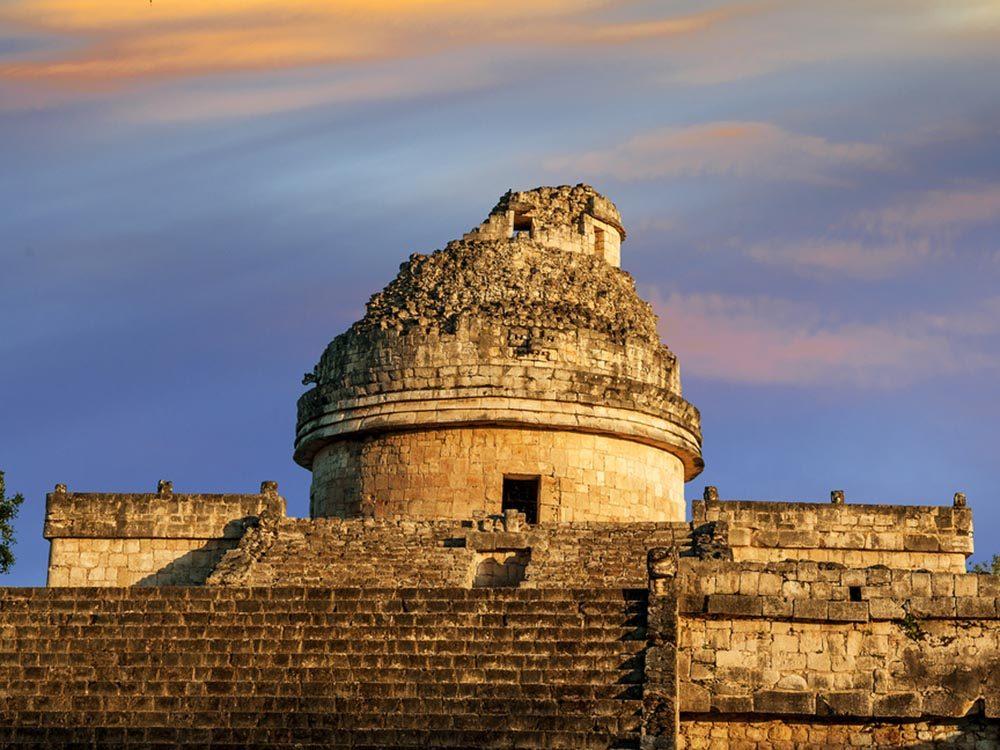 Solstice d'été: les Mayas honoraient le soleil.