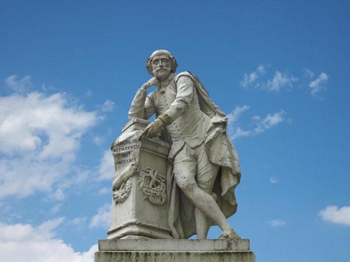 Shakespeare s'est inspiré du solstice d'été.
