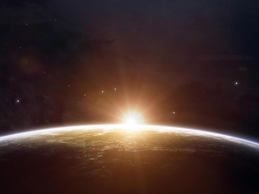 Lors du solstice d'été, la Terre n'est pas plus proche du soleil.