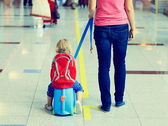 L'aéroport de Vancouver a installer un zone pour les enfants.