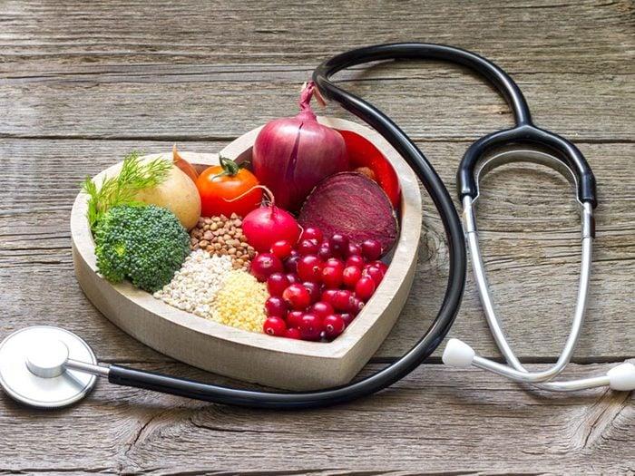 Pour aider votre coeur, perdez du poids.
