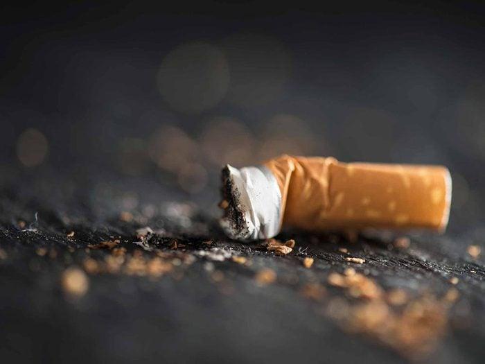 Pour aider votre coeur, arrêtez de fumer.