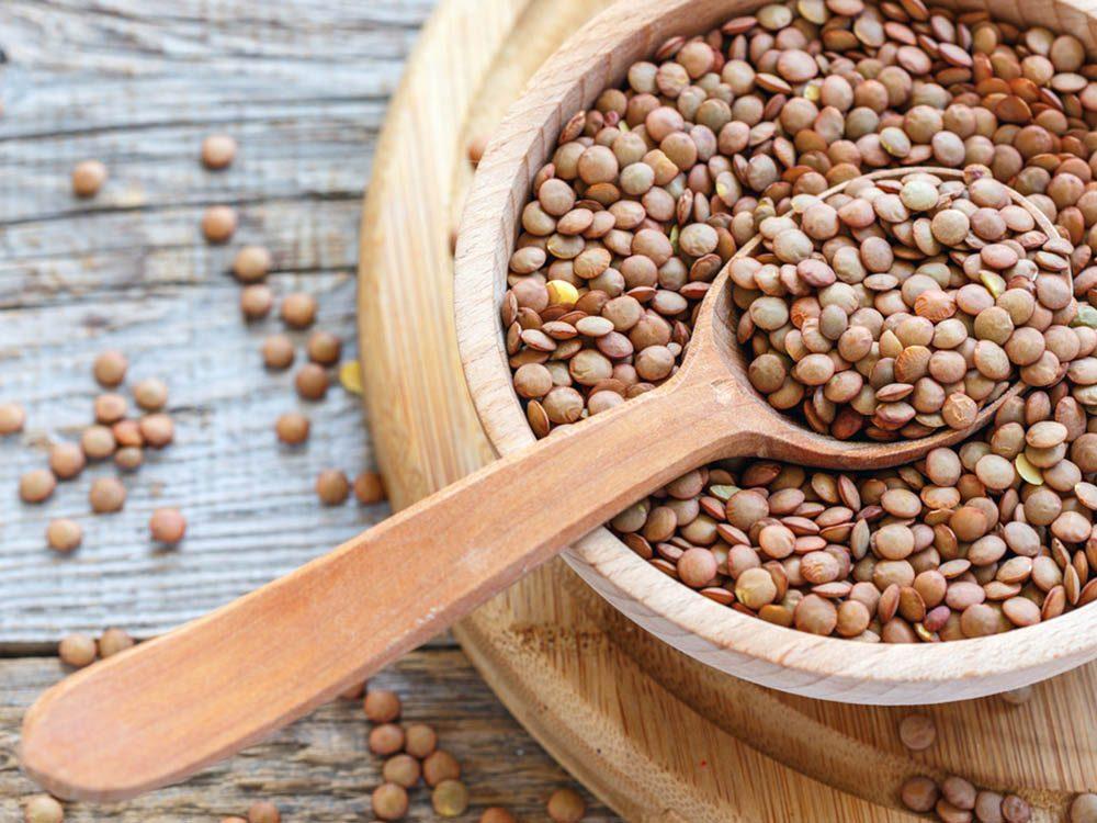 Burn-fat foods: lentils.