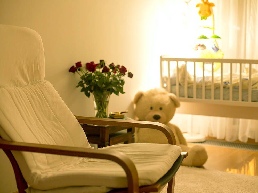 Choisissez un endroit tranquille pour l'allaitement.