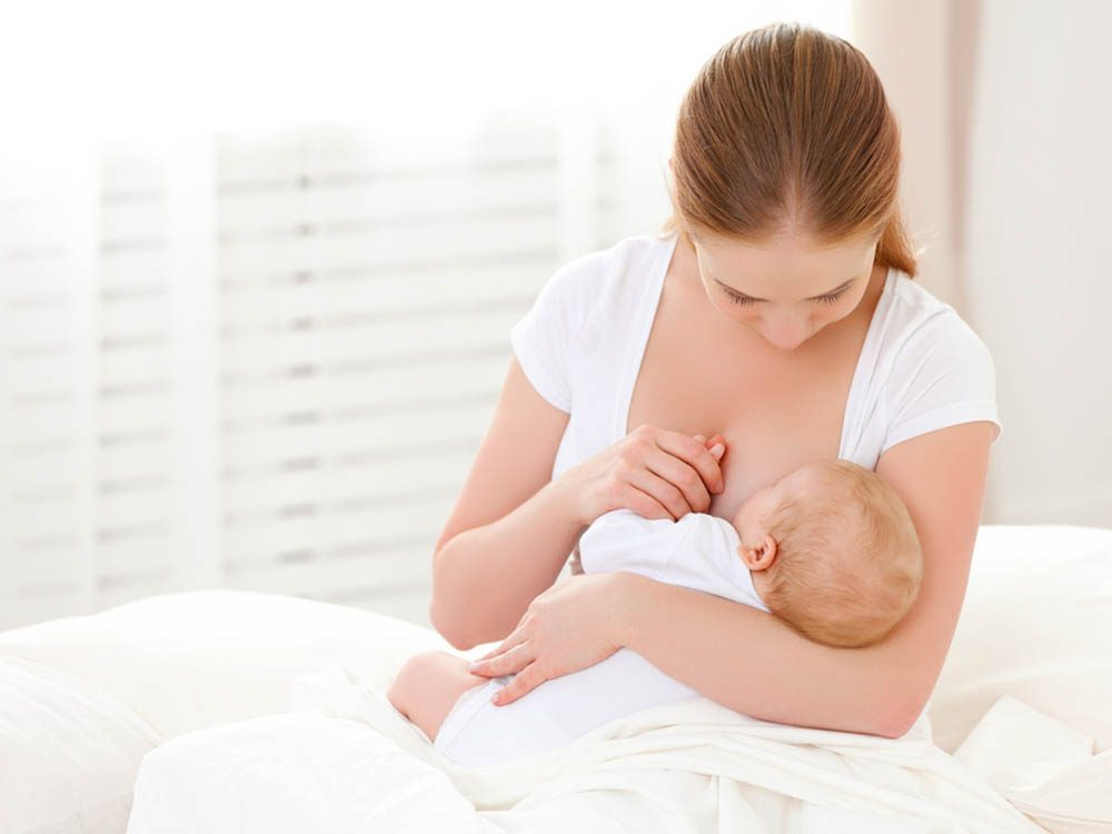 Allaitement: si un mamelon est douloureux, allaiter avec l'autre sein.