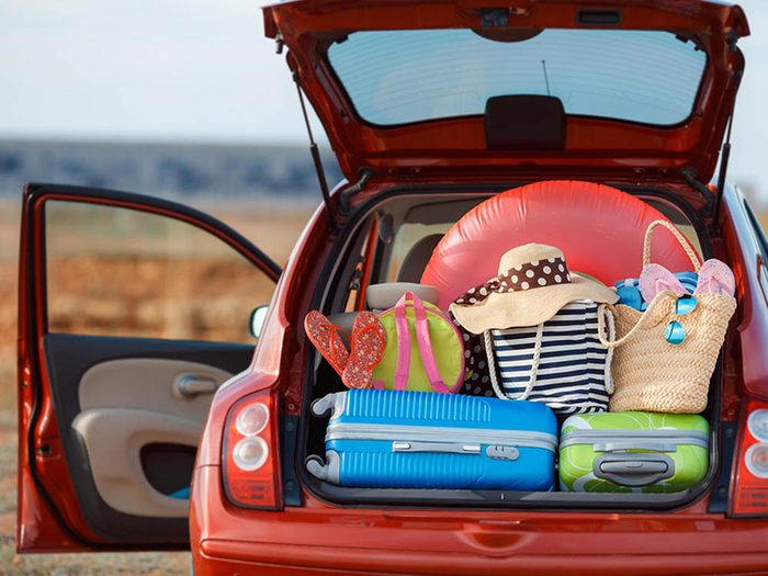 Avant cet automne, mettez de l'ordre dans votre auto.