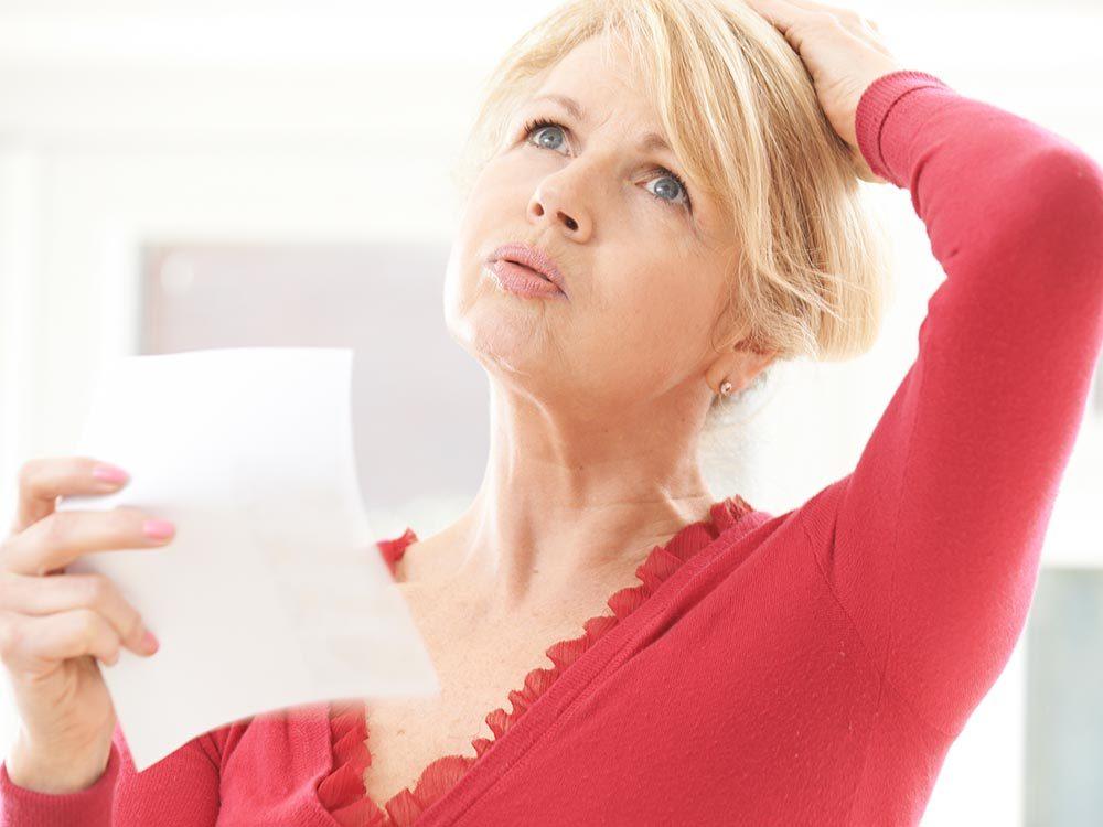 Les bouffées de chaleur peuvent présager le diabète.