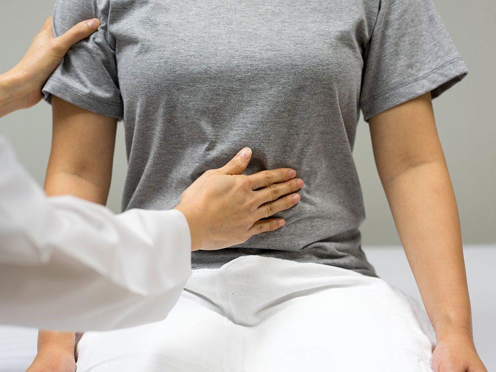 Votre pancréatite pourrait être un signedu cancer du pancréas.