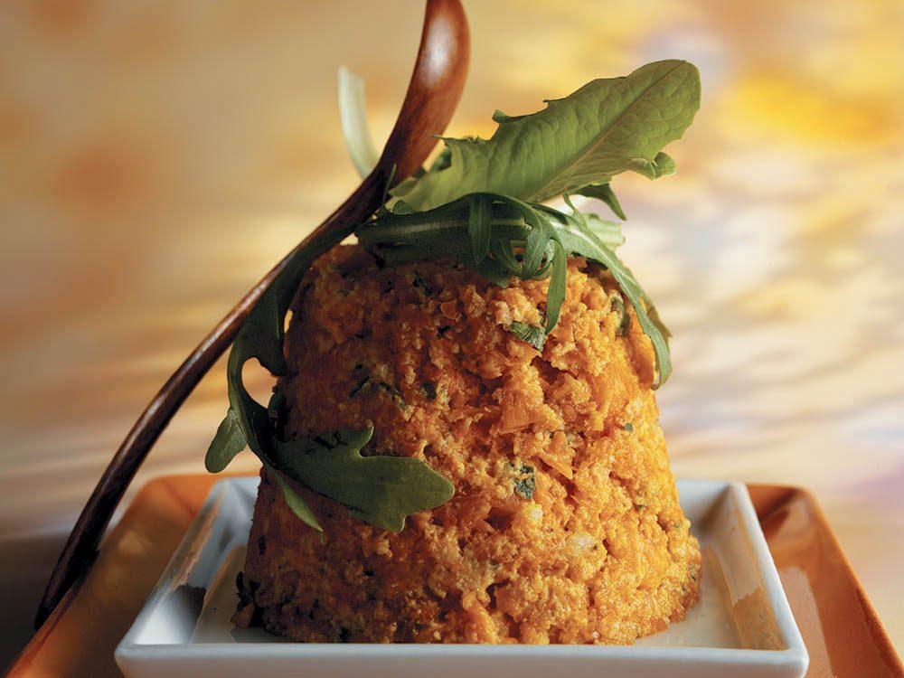 La bonne cuisine avec 3 fois rien: le flan de carottes.